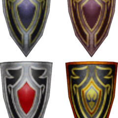 The Warrior's shields.