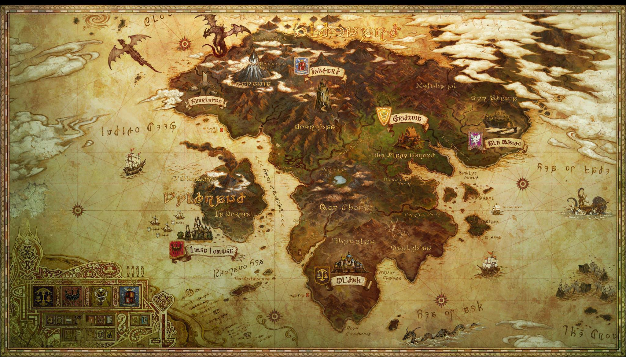 Imagen eorzea mapg final fantasy wiki fandom powered by wikia eorzea mapg gumiabroncs Choice Image