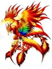 FFVIII - Phoenix Artwork