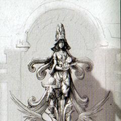 Memento statue.