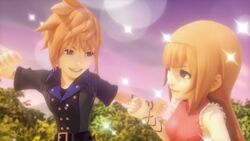 Reynn and Lann World of Final Fantasy Opening