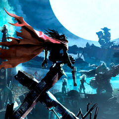<i>Dirge of Cerberus</i> key art.