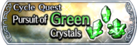 DFFOO Cycle Quest Green banner GLS