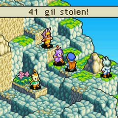 Steal: Gil.