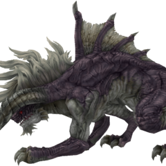 The more traditional-looking King Behemoth from <i>Final Fantasy XII</i>.