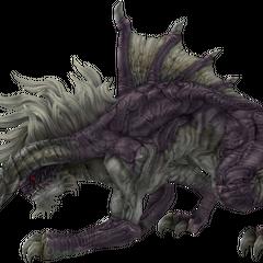 Царь-бегемот с более традиционной внешностью из <i>Final Fantasy XII</i>.