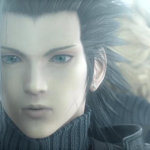 Zack em <i>Final Fantasy VII: Advent Children Complete</i>.
