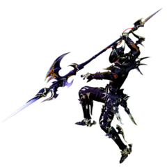 Dragoon render for <i>Final Fantasy XIV: A Realm Reborn</i>.