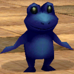 Toad render for Cid in <i>Final Fantasy IV</i> (iOS).