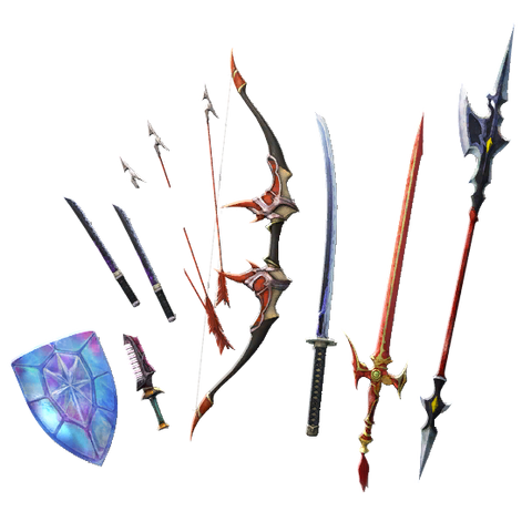 Bartz's Weapon Pack I.