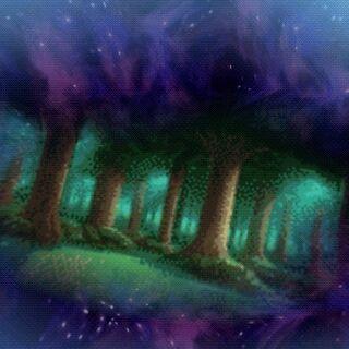 Portal para a Floresta da Fenda Dimensional.
