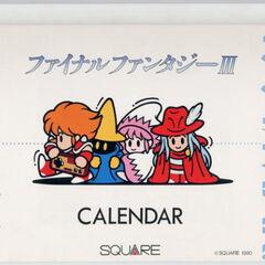 <i>F.F. OFFICIAL SHOP Calendar</i>.