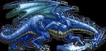 FF4PSP Blue Dragon