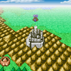 On the World Map (GBA).