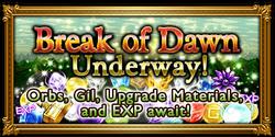 FFRK Break of Dawn Event