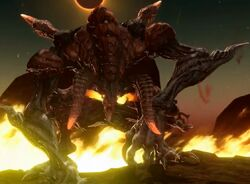 FFXIV Ifrit Battle