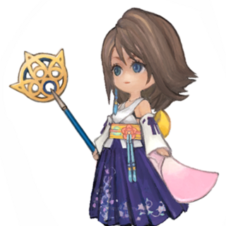 Wind-up Yuna concept art.