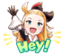 LINE Edea Sticker