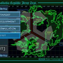 Missiles menu.