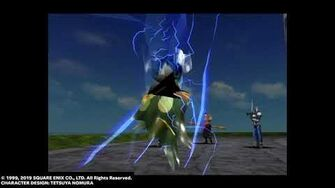 "Quezacotl ""Thunder Storm"" from FINAL FANTASY VIII Remastered"