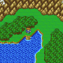 Ship Graveyard on the World Map (GBA).