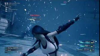 Tifa Lockhart's Somersault Limit Break from FINAL FANTASY VII REMAKE