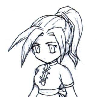 Концепт-арт для <i>Final Fantasy VII</i>.