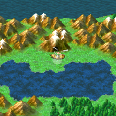 The Sealed Cave on the World Map (DS).