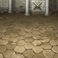 Battle Background in the Castle (PSP).