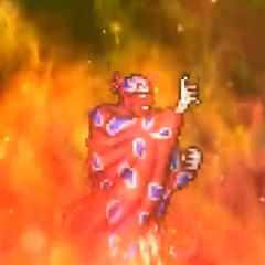 Burning Flame.