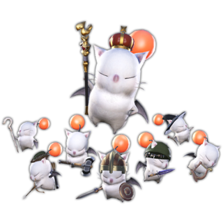 Good King Moggle Mog XII's render.