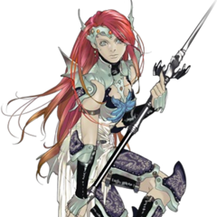 Barbara is a Dragoon from <i><a href=