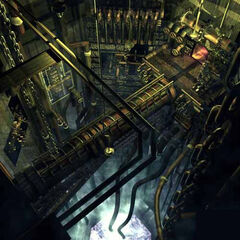 Mako Reactor in Nibelheim.