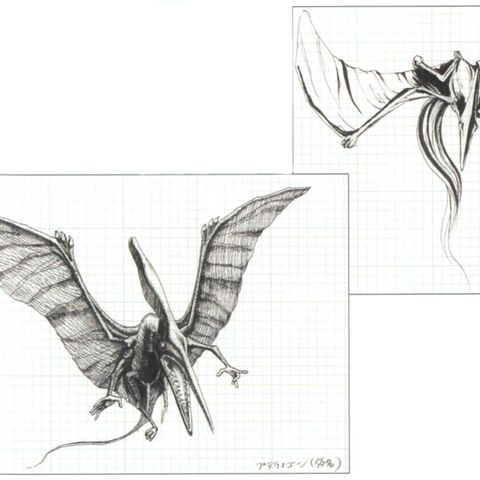 Concept artwork of the Pterodactyl.