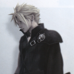 Cloudy Wolf attire for <i>Advent Children</i>.