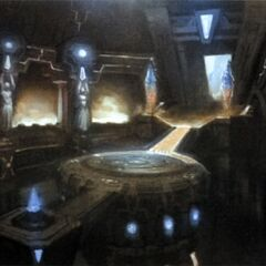 Artwork of the Labyrinth of the Ancients.