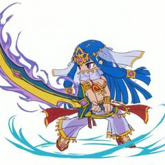 Rakshasa's sprite concept artwork.