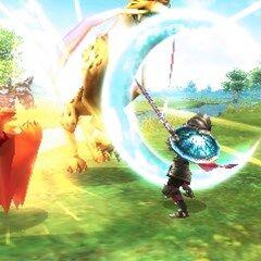 Um <i>knight</i> ataca um <a class=