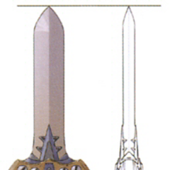 Concept art of Iron Sword from <i><a href=