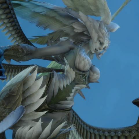 <i>Final Fantasy XIV</i> version of Garuda in the collaboration event.