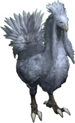 XIII2 Silver Chocobo