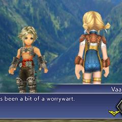 Vaan and Penelo reunited.