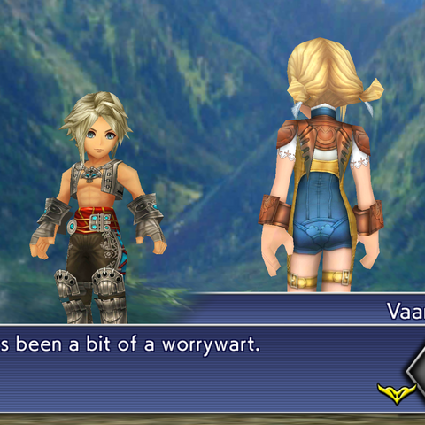 Vaan and Penelo reunited.