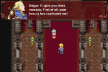 FFVI PC Edgar meets Terra