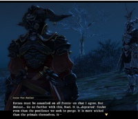 FFXIV Gaius Talking