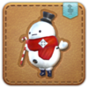 FFXIV Hoary the Snowman Minion Patch