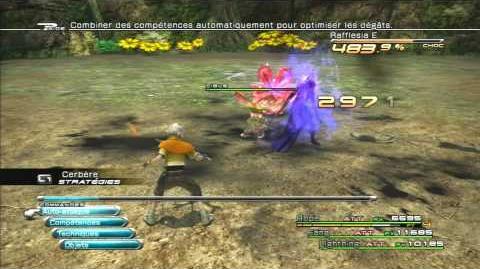 Final Fantasy XIII Combat contre Rafflésia