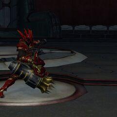 Nero preparado para lutarno <a class=