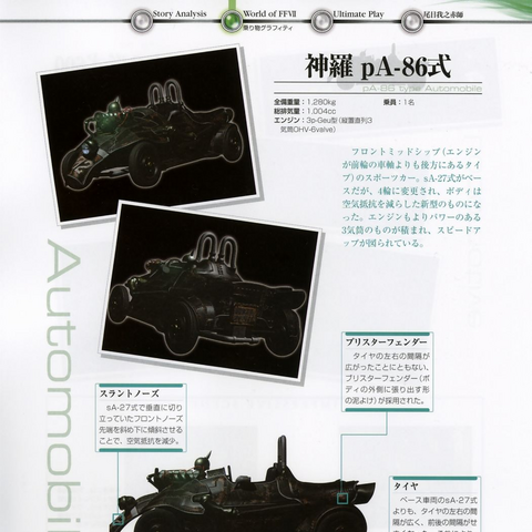 Scan from <i>Final Fantasy VII Ultimania Omega</i>.