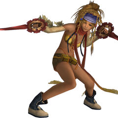 Rikku as a Thief.